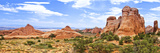 Panoramic Landscape - Arches National Park - Utah - United States