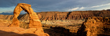 Delicate Arch - Panoramic Landscape - Arches National Park - Utah - United States