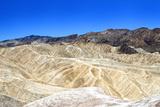 Zabriskie Point - Furnace Creek - Death Valley National Park - California - USA - North America