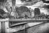 Double Pont - Notre Dame Cathedral - Paris - France