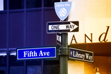Advertising - Fifth Avenue - Manhattan - New York City - United States