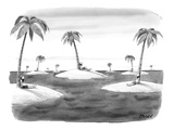 Many desert islands - New Yorker Cartoon