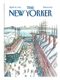 The New Yorker Cover - April 30  1984