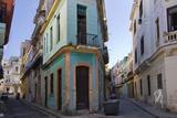 Old Houses in the Historic Center  Havana  UNESCO World Heritage Site  Cuba