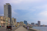 Malecon Street Along the Waterfront  Havana  UNESCO World Heritage Site  Cuba