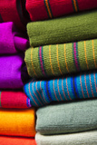 Local Outdoor Market Textiles  Chichicastenango  Guatemala
