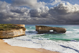 London Arch  Great Ocean Road During Storm and Evening Light  Australia
