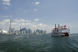 Lake Ontario Skyline  Sightseeing Paddlewheel Boat  Toronto  Ontario  Canada