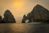 Sunrise  El Arco  the Arch  Cabo San Lucas  Baja  Mexico