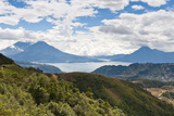 Lago De Atitlan (Lake Atitlan)  Solola  Guatemala