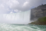 Canadian Side Scenic View of the Waterfalls  Niagara Falls  Ontario  Canada