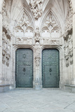 Toledo Cathedral Door  Toledo  Spain