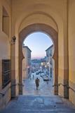 Gate to Zocodover Square (Plaza Zocodover)  Toledo  Spain