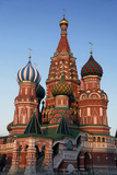 St Basil's Cathedral in Red Square  Moscow  Russia