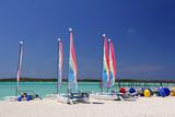 Sailing Rentals  Beach  Castaway Cay  Bahamas  Caribbean
