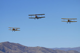 De Havilland Dh 82A Tiger Moth Biplane  Warbirds over Wanaka  Airshow  New Zealand
