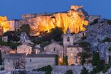 Twilight over Medieval Town of Les Baux De-Provence  France