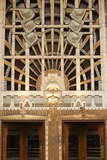 Detail of the Marine Building  Vancouver  British Columbia  Canada