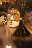 Selective Focus of Carnival Mask  Venice  Italy