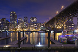 Granville Bridge  Vancouver  British Columbia  Canada