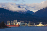 Port of Vancouver  Vancouver  British Columbia  Canada