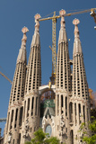La Sagrada Familia by Antoni Gaudi  Barcelona  Spain