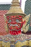 Buddhist Mythology Yaksa  Temple of the Emerald Buddha  Bangkok  Thailand