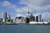 Skyline of Downtown Auckland  Auckland  New Zealand