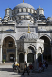 The Mosque of Sultan Ahmet (Blue Mosque)  Istanbul  Turkey