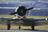 North American Harvard  or T-6 Texan  or SNJ  War Plane