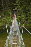 Footbridge  Waikaia River  Piano Flat  Waikaia Valley  South Island  New Zealand
