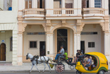 Horse Cart  Historic Center  Havana  UNESCO World Heritage Site  Cuba