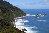 Coastline  the Tasman Sea  Karamea  New Zealand