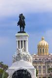 Monument to Antonio Maceo  Capitol Building  Havana  Cuba