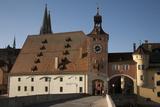Salt House  Danube River  Regensburg  Germany