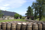 Barrels Waiting to Be Filled  Glenmorangie Distillery  Tain  Scotland