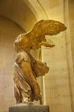 Statue of Winged Victory 'Victoire De Samothrace'  Musee Du Louvre  Paris  France