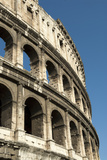 Flavian Amphitheater Called the Coliseum  Rome  Italy
