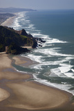 View of Beach  Cascade Head  Oregon  USA