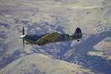 Supermarine Spitfire  British and Allied WWII War Plane  South Island  New Zealand