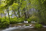 Upper Lakes  Waterfall Galovacki Slap  Plitvice Lakes  Plitvicka Jezera  Croatia