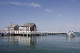Straight Wharf Water Taxi  Nantucket  Massachusetts  USA