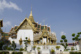 Administrative Halls and Buildings  Grand Palace  Bangkok  Thailand