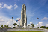 Memorial to Jose Marti in Havana  Cuba