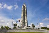 Memorial to Jose Marti in Havana  Cuba