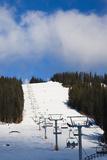 Ski Lift  Sun Peaks Resort  Sun Peaks  British Columbia  Canada