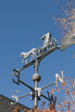Weathervane  Edith Palmer's Country Inn  Virginia City  Nevada  USA
