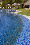 Hotel Infinity Swimming Pool  Bavaro  Higuey  Punta Cana  Dominican Republic