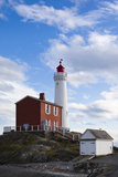 Fisgard Lighthouse  Victoria  Vancouver Island  British Columbia  Canada