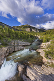 Devils Glen  Dearborn River  Lewis and Clark National Forest  Montana  USA